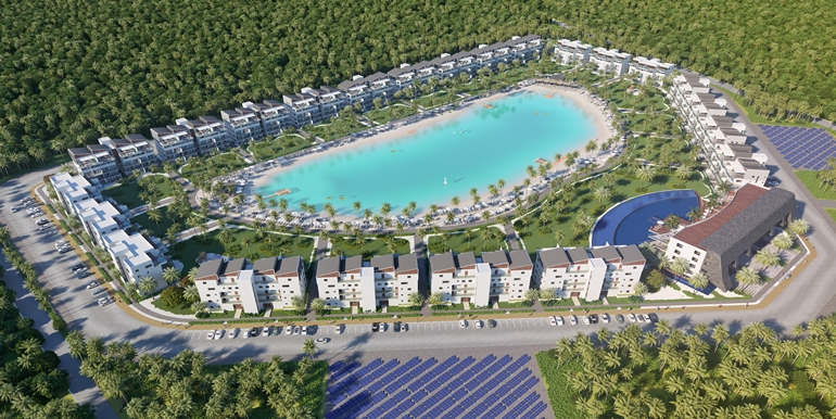 Luxurious 1-4 BR  Apartments With Private Beach Crystal